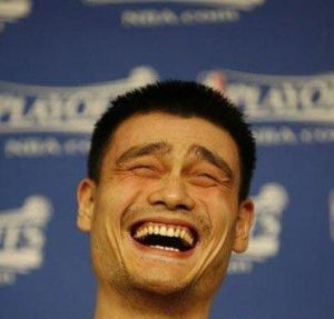 Yao Ming aprova essa edição!
